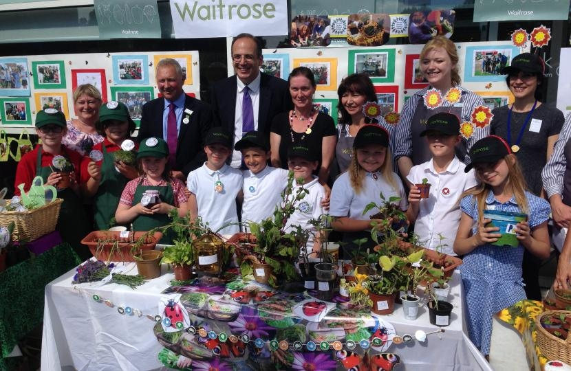 Waitrose grow and sell